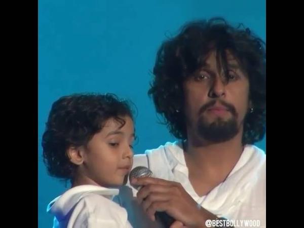 Индийская песня Сону Нигам с сыном
