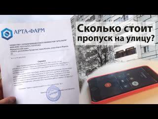 Сколько стоит пропуск на улицу: в Казани продают левые справки