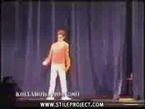Dans Yarışmasında Psikopat Dansçı - Komik Videolar