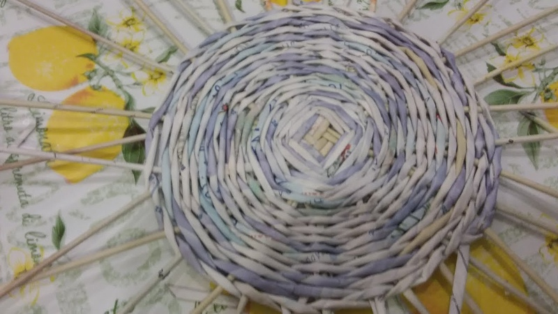 Деревенский метод плетения кашпо.Урок 2.