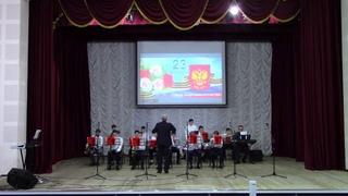 """Праздничный концерт """"Во славу защитников Отечества"""". 23 февраля 2021."""