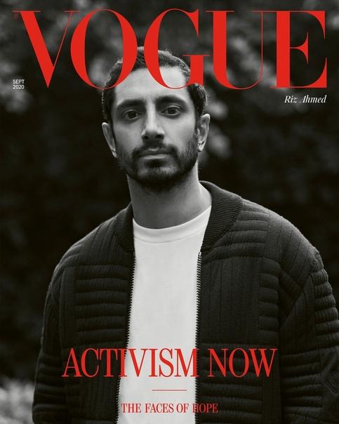 Риз Ахмед в фотосессии для British Vogue Мисан Харриман