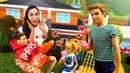 Puppen Video mit Barbie auf Deutsch. Ken und Steven sind verliebt. Spielspaß mit Doktor Aua.