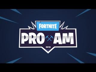 Турнир знаменитостей Pro-Am по Fortnite | E3 2018
