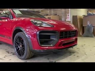 2020 Porsche Cayenne Coupe mit Widebody-Kit von MTR Design in Rot!