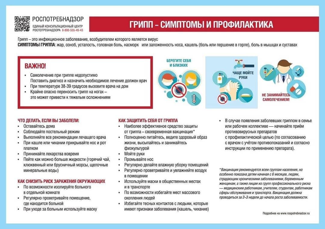 В Петровском районе превышен эпидемический порог заболеваемости ОРВИ