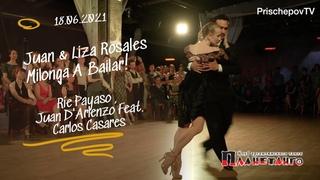 Juan Manuel Rosales & Liza Rosales, 2-4, день рождения Планетанго 18 июня 2021