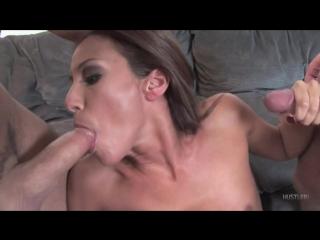 Adriana Deville - Her First DP 145 [Blowjob, Brunette, Group Sex, Hardcore, Lati
