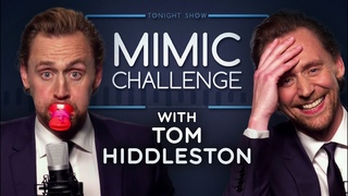 Mimic Challenge with Tom Hiddleston   The Tonight Show Starring Jimmy Fallon
