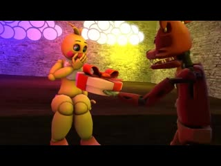 (sfm fnaf) foxy cheer up toy chica