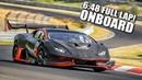 Lamborghini LP1200 on the Nürburgring! Full Onboard Lap ( Crash?! )