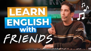Ross Plays the Piano, but Then... | Learn English with Friends