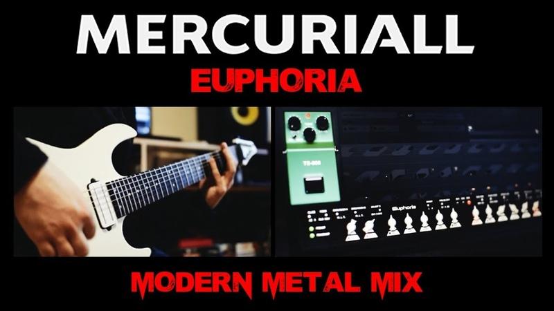 Mercuriall Euphoria (Bogner Ecstasy VST Plugin) - Modern Metal Mix