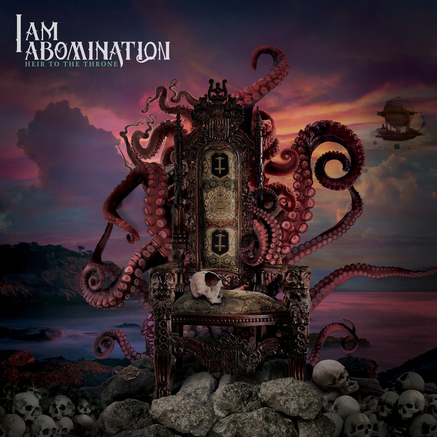 I Am Abomination - Heir to the Throne [single] (2019)