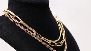 Винтажное ожерелье чокер девы марии, женское в стиле бохо, панк, золотистое многослойное