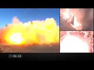 Взрыв сверхтяжёлой ракеты от SpaceX [Рифмы и Панчи]