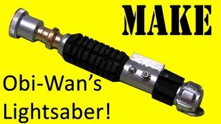 How to Make Obi-Wan's Lightsaber (DIY)