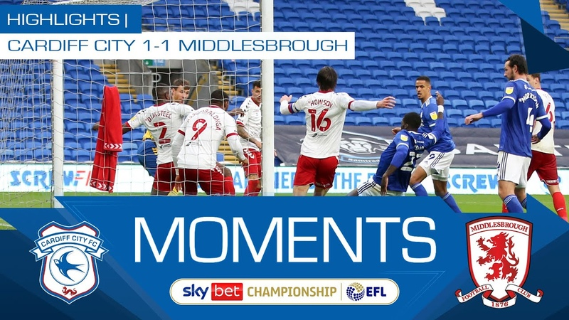 HIGHLIGHTS   CARDIFF CITY 1-1 MIDDLESBROUGH