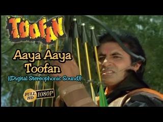 Aaya Aaya Toofan (Title Song) Amitabh Bachan - Full Song HD 1080p - Toofan 1989