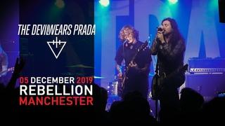 THE DEVIL WEARS PRADA LIVE  REBELLION / MANCHESTER / 05 DECEMBER 2019