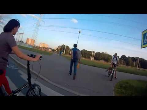 Велопрогулка с Kugoo M4 Pro 27 07 2019