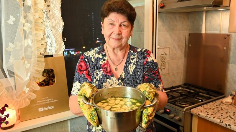 ТАКОЙ СУПЧИК ХОТЬ КАЖДЫЙ ДЕНЬ ПОДАВАЙТЕ Суп с сырными клёцками Мамины рецепты