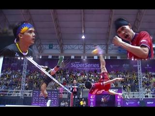 Sepak Takraw - Thailand VS Malaysia ! Final Match !