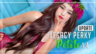 UPDATE Legacy PERKY Petite 1.4 (VIP Gift)   GIVEAWAY Legacy Body   REVIEW Second Life