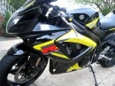 Suzuki GSX-R 750 With Complete Two Brothers Racing Exhaust