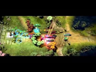 [DotaFX] TI3 - The Epic Play -  - Mu! Double Rampage~
