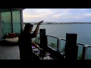 Markus Schulz Live set on balcony ( Miami studio).