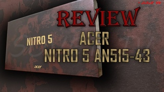 👉 Laptop 💻 Acer Nitro 5 AN515-43   РАСПАКОВКА / ОБЗОР   UNPACKING / REVIEW