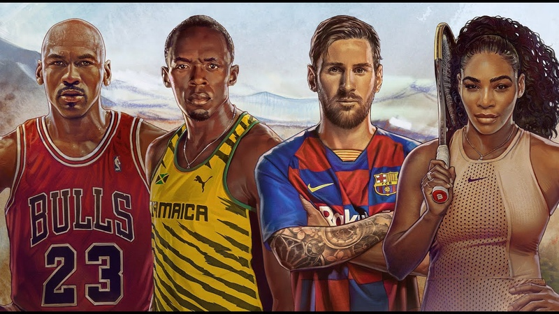 Goat Camp Starring Leo Messi Serena Williams Michael Jordan and Usain Bolt
