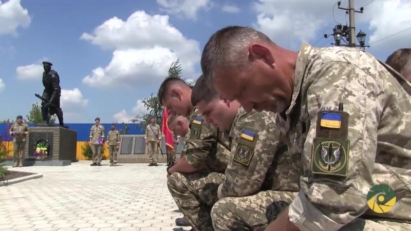 Захисники України, які виконують бойові завдання на Приазов'ї, дали клятву морського піхотинця.