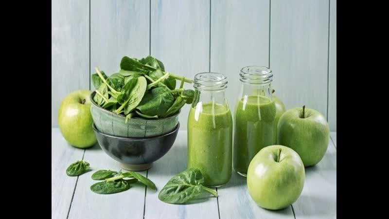 Девять зеленых смузи которые поднимут настроение осенью