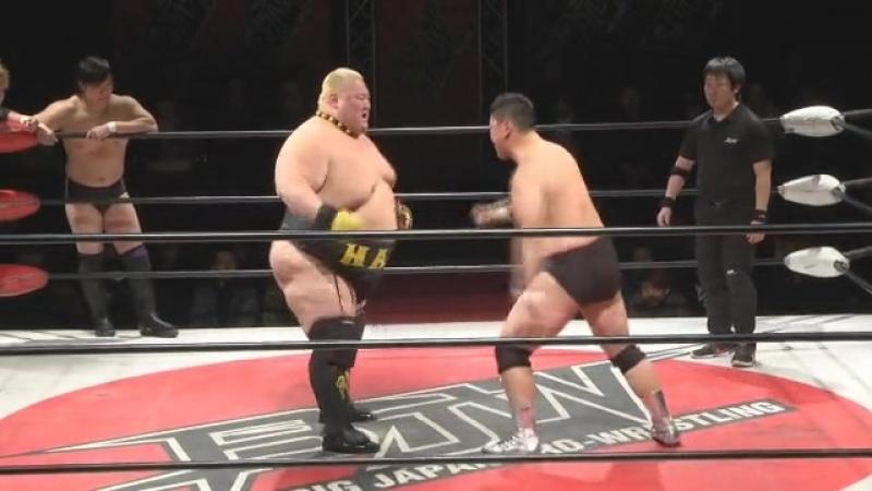 Daichi Hashimoto, Hideyoshi Kamitani, Takuya Nomura vs. Yasufumi Nakanoue, Ryota Hama, Kazumi Kikuta (BJW)