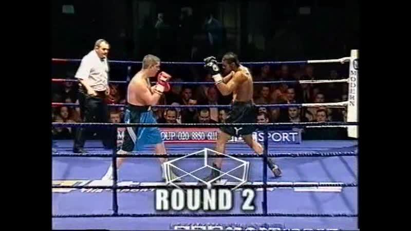 David Haye vs Tony Booth 2002 12 08