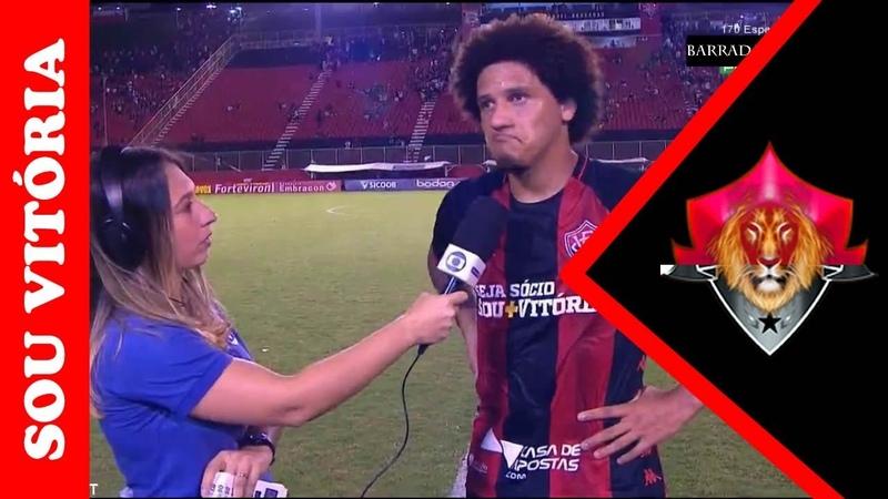 Notícias do Vitória: Confira o que Felipe Gedoz falou após o empate contra O Operário