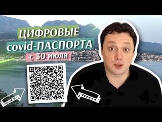 Цифровые ковид-паспорта с 30 июля. Новости Черногории