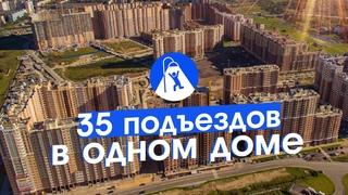 Дом-монстр у Санкт-Петербурга. Будущие гетто и трущобы.