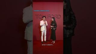 [EN SUB] 20210423 朱一龍Tom Ford唇誘派對紅毯採訪直播 Zhu Yilong Tom Ford Party Red Carpet Interview