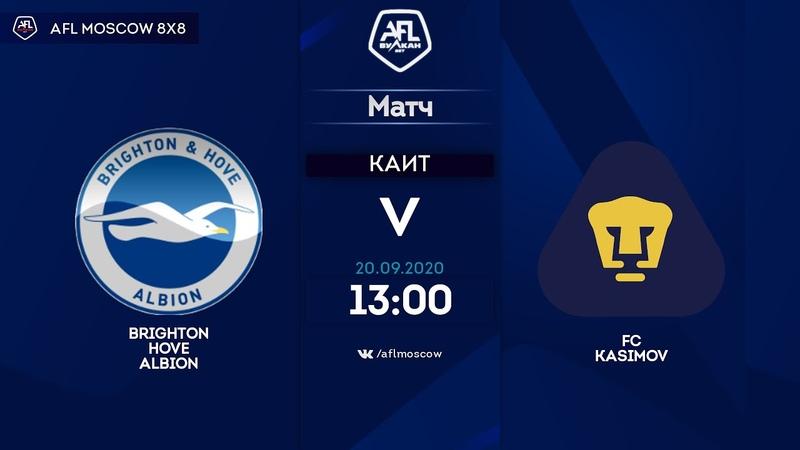 AFL20 Euroleague C1 Day 9 Brighton Hove Albion FC Kasimov