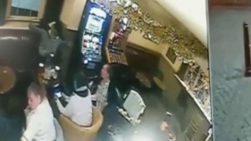Poltergeist Caught Knocking Multiple Glasses Off Pub Table