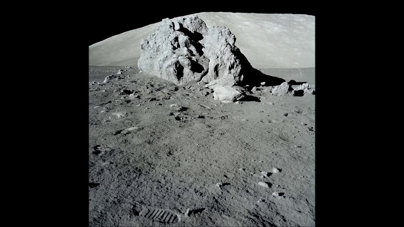 Раскрыта загадка таинственного вещества обнаруженного на обратной стороне Луны. Фото. Видео.