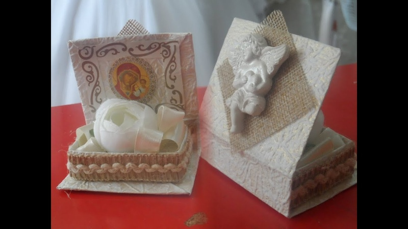 Коробка таросик для крещения N 2 Knunqi tarosiki favor
