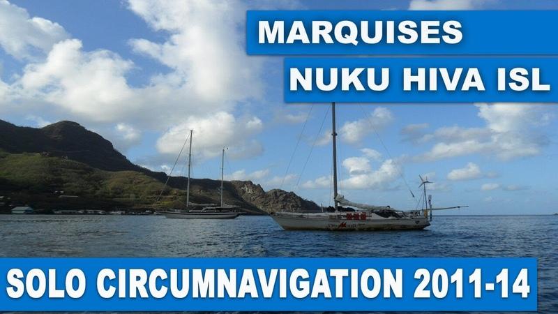 CIRCUMNAVIGATION ON THE YACHT HIKARI. MARQUISES, NUKU-HIVA