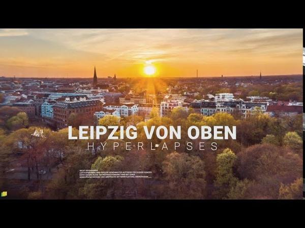 Leipzig Von Oben Drohne Hyperlapses DJI Mavic 2 Pro