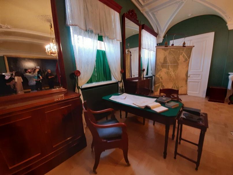 Большой военный кабинет Николая I (фрагмент)
