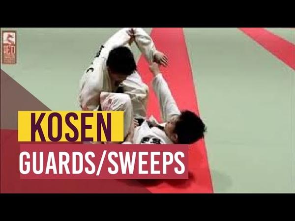 Guards and sweeps in Kosen Nanatei Judo 高專柔道