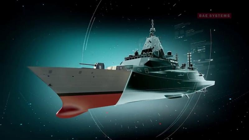 Australia's new Hunter class ASW frigate